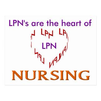 LPN Heart Postcard