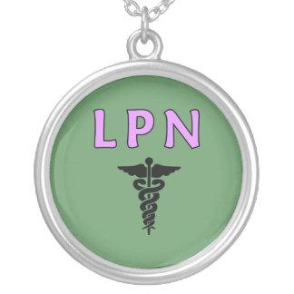 LPN médical Pendentif Rond