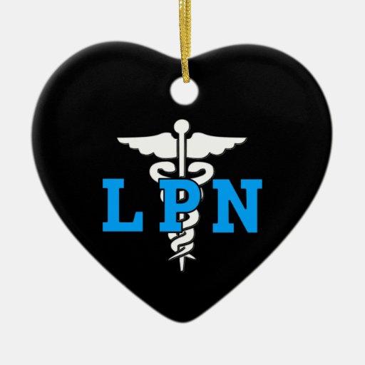 Medical Christmas Tree: LPN Medical Symbol Christmas Tree Ornament