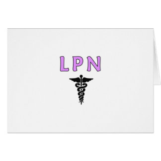 LPN Medicalt Greeting Card