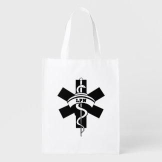 LPN Nurses Reusable Grocery Bag