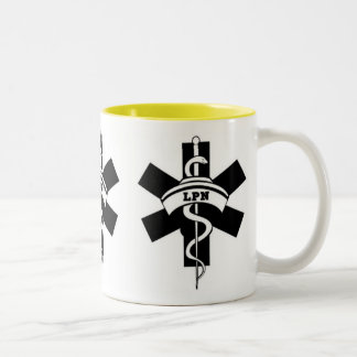 LPN Nurses Two-Tone Coffee Mug