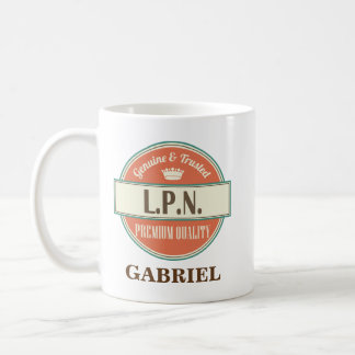 LPN Personalized Office Mug Gift