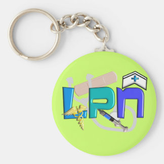 LPN  T-shirts and Gifts Keychain