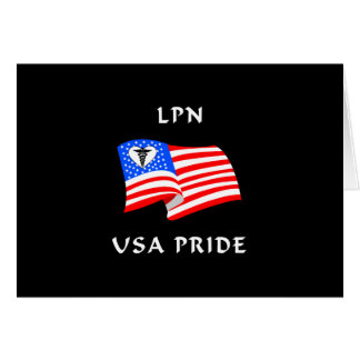 LPN USA Pride Note Card
