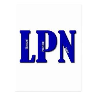 LPNx2 Postcard