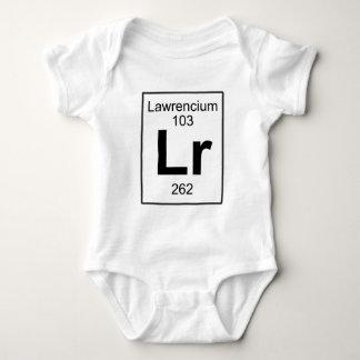 Lr - Lawrencium Baby Bodysuit