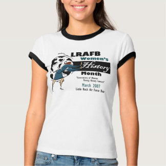 LRAFB Womens History Month 2007 T-Shirt