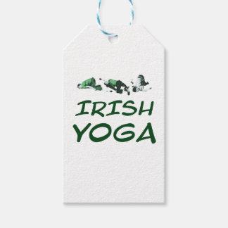 lrish yoga gift tags