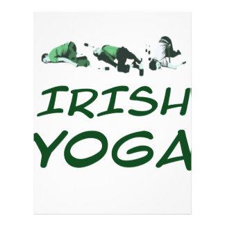 lrish yoga letterhead