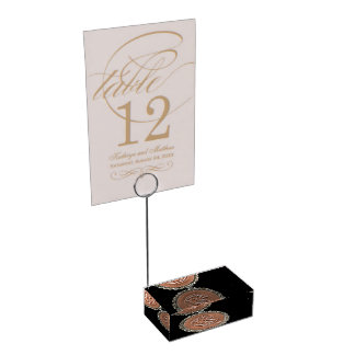LRS Labyrinth Readers Society Acrylic Base Marker Table Number Holder