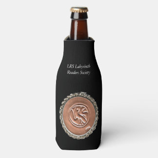 LRS Labyrinth Readers Society Bottle Cooler Wrap