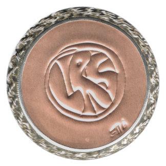 LRS Labyrinth Readers Society Melamine Plate