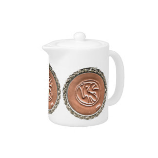 LRS Labyrinth Readers Society Teapots med & small
