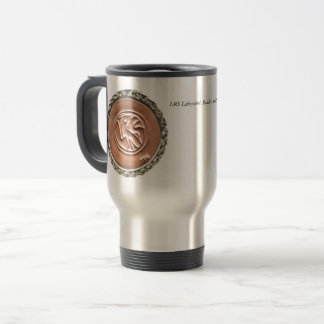 LRS Labyrinth Readers Society Voyager's Travel Mug