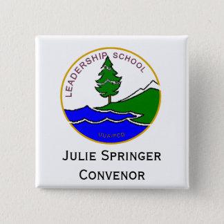 ls logo col, Claire Paul Convenor 2 Inch Square Button