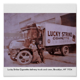 LS Truck Print Copy, Lucky Strike Cigarette del...