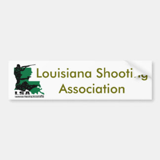 LSA Logo, Louisiana Shooting Association Bumper Sticker