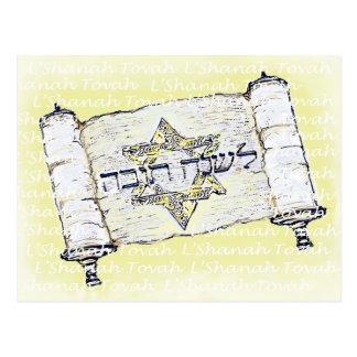 L'Shanah Tovah Postcard