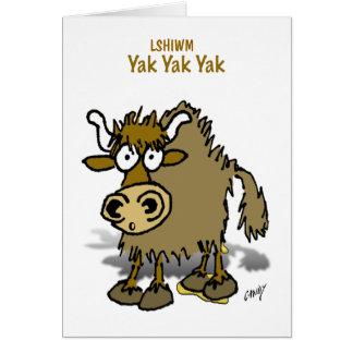 LSHIWM Yak Card