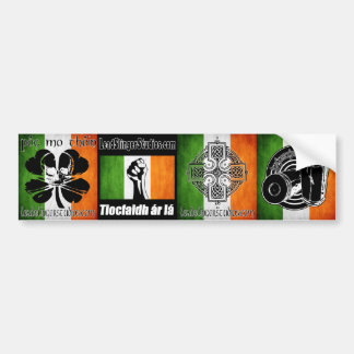 LSS Irish 4 Bumperstickers Bumper Sticker