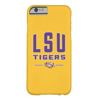 LSU Tigers   Louisiana State 4 Barely There iPhone 6 Case