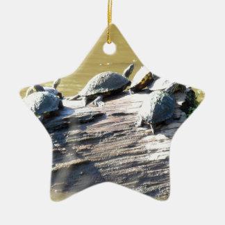 LSU Turtles.JPG Ceramic Star Ornament