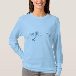 Lt. Blue Long-sleeved Neuroscience T-Shirt