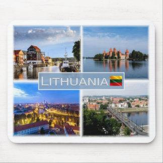 LT Lithuania - Klaipeda - Vilnius - Mouse Pad
