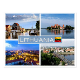 LT Lithuania - Postcard