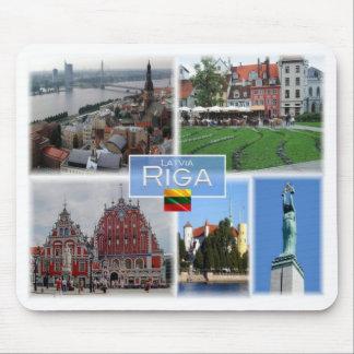 LT Lithuania - Riga Latvia Lietuva - Mouse Pad