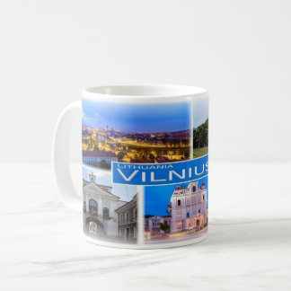 LT Lithuania - Vilnius - Coffee Mug