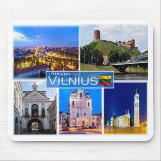 LT Lithuania - Vilnius - Mouse Pad