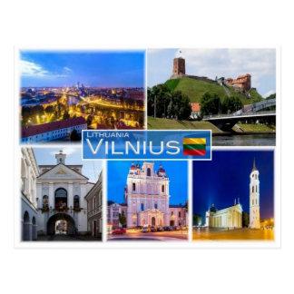 LT Lithuania - Vilnius - Postcard