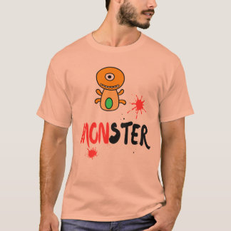 Ltd Edition: monster unique design t-shirt