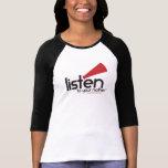 LTYM Women's Fitted Baseball [Runs VERY small] T Shirt