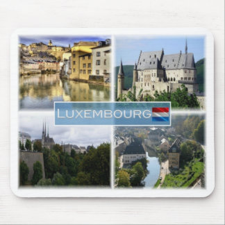 LU Luxembourg - Alzette - Mouse Pad