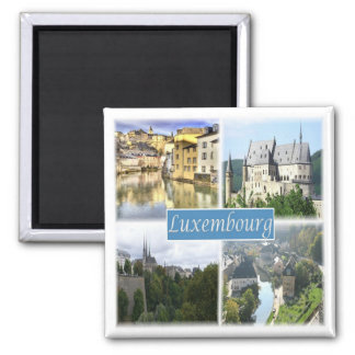 LU * Luxembourg Magnet