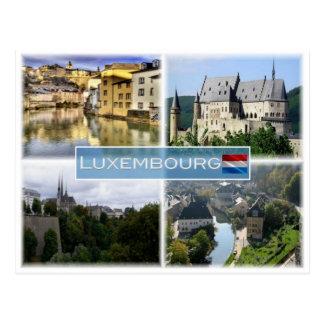 LU Luxembourg - Postcard