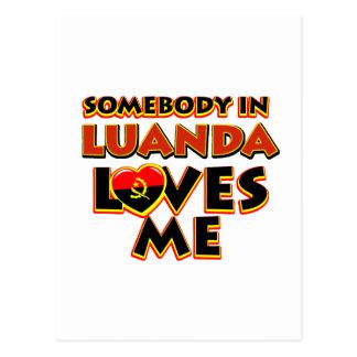 Luanda City Designs Postcard
