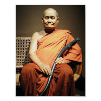 Luang Poo Cha Subhaddho ... Buddhist Monk Poster