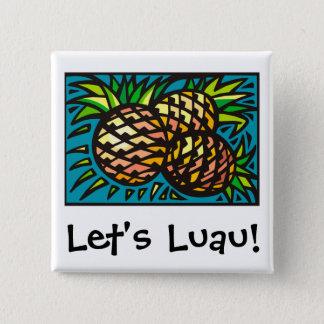 Luau 1 2 inch square button