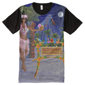 LUAU PARTY All-Over-Print T-Shirt