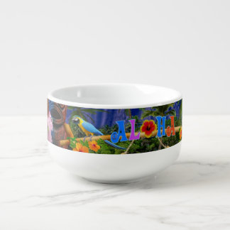 LUAU PARTY SOUP MUG