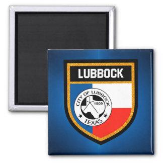 Lubbock Flag Magnet