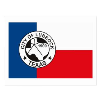 Lubbock Flag Postcard