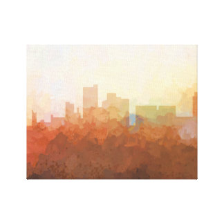 LUBBOCK, TEXAS SKYLINE-In the Clouds Canvas