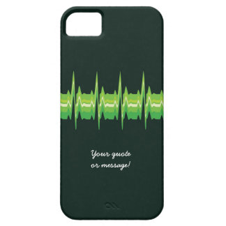 Lubdub Green Customisable Phone Case. Case For The iPhone 5