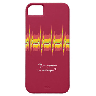 Lubdub Magenta Customisable Phone Case. iPhone 5 Covers