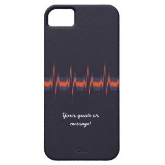 Lubdub Purple Customisable Phone Case. iPhone 5 Cover